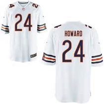 Nike Chicago Bears #24 Jordan Howard White Elite Stitched Jersey