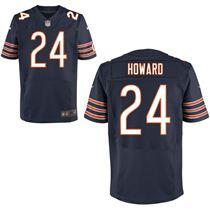 Nike Chicago Bears #24 Jordan Howard Blue Elite Stitched Jersey