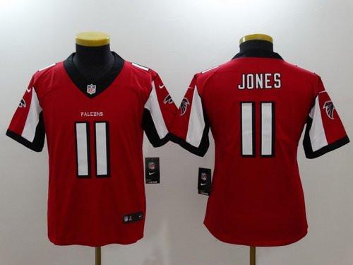 Youth Atlanta Falcons #11 Julio Jones Red  2017 Vapor Untouchable Stitched NFL Jersey