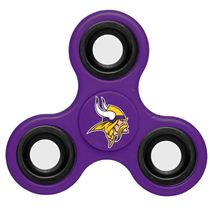 NFL Vikings-Purple-Team-Logo-Finger-Spinner
