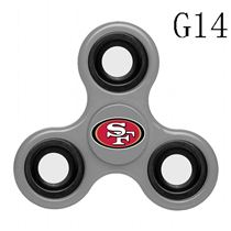 NFL San Francisco 49ers gray Finger Spinner