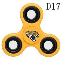 NFL Jacksonville Jaguars yellow Finger Spinner