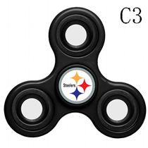 NFL Pittsburgh Steelers black Finger Spinner
