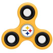 NFL Steelers-Yellow-Team-Logo-Finger-Spinner