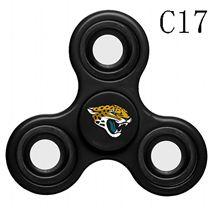NFL Jacksonville Jaguars black Finger Spinner