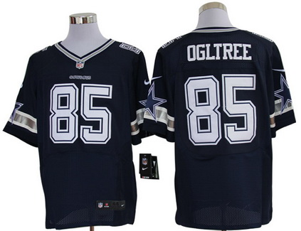 Size 60 4XL Kevin Ogletree Dallas Cowboys #85 Navy Blue Stitched Nike Elite NFL Jersey