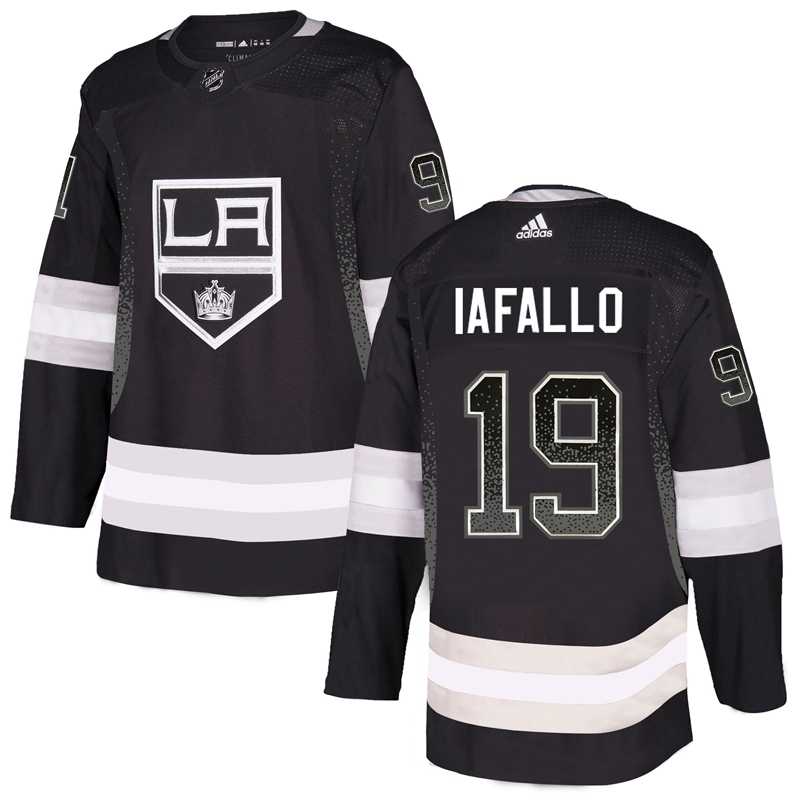 Kings 19 Alex Iafallo Black Drift Fashion Adidas Jersey