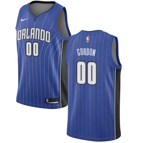 Nike Magic #00 Aaron Gordon Royal NBA Swingman Association Edition Jersey