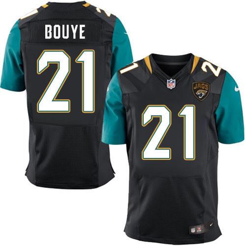 Nike Jaguars #21 A.J. Bouye Men's Stitched Black Alternate NFL Elite Jersey