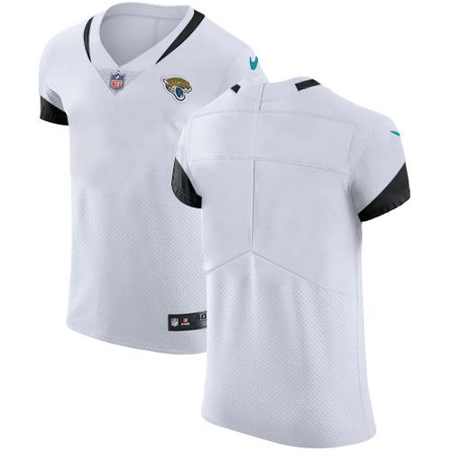 Nike Jacksonville Jaguars Men's Stitched NFL Vapor Untouchable Elite Blank White Jersey