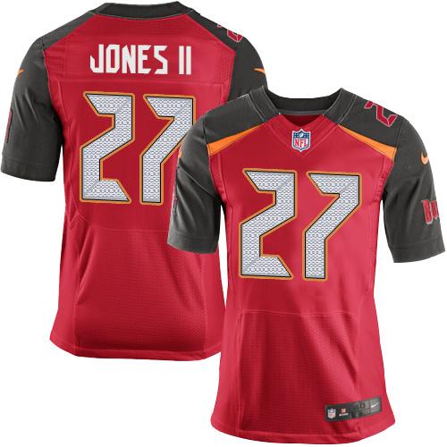 Nike Tampa Bay Buccaneers #27 Ronald Jones II Team Color Men's Stitched NFL New Elite Red Jersey