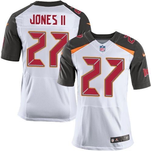 Nike Tampa Bay Buccaneers #27 Ronald Jones II Men's Stitched NFL New Elite White Jersey