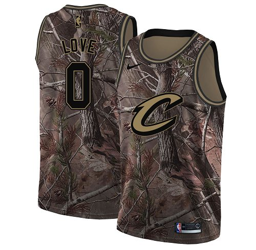 Nike Cavaliers #0 Kevin Love Camo NBA Swingman Realtree Collection Jersey