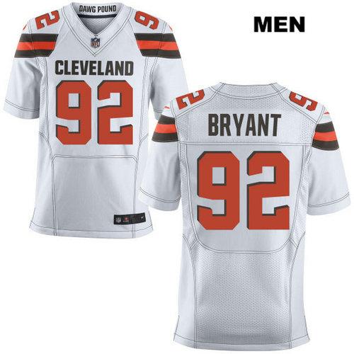 Nike Cleveland Browns #92 Desmond Bryant White Stitched Men's NFL Elite Jersey