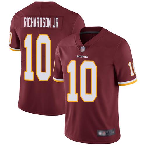 Redskins #10 Paul Richardson Jr Burgundy Red Team Color Men's Stitched Football Vapor Untouchable Limited Jersey