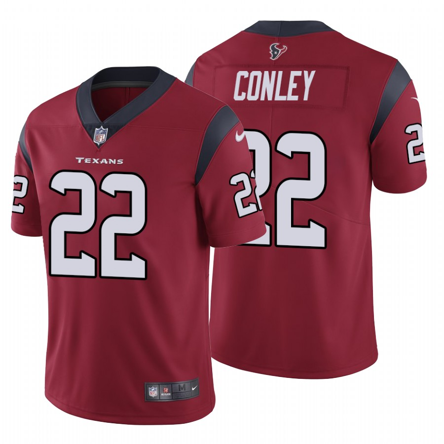 Nike Texans #22 Gareon Conley Men's Red Vapor Untouchable Limited NFL 100 Jersey