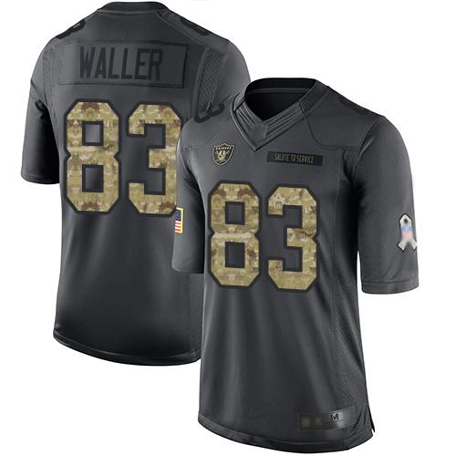 Nike Oakland Raiders Men's #83 Darren Waller Limited Jersey Football