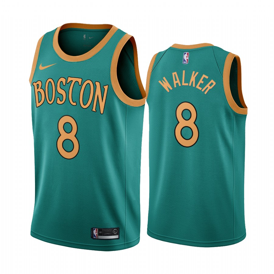 Nike Celtics #8 Kemba Walker Green 2019-20 City Edition NBA Jersey