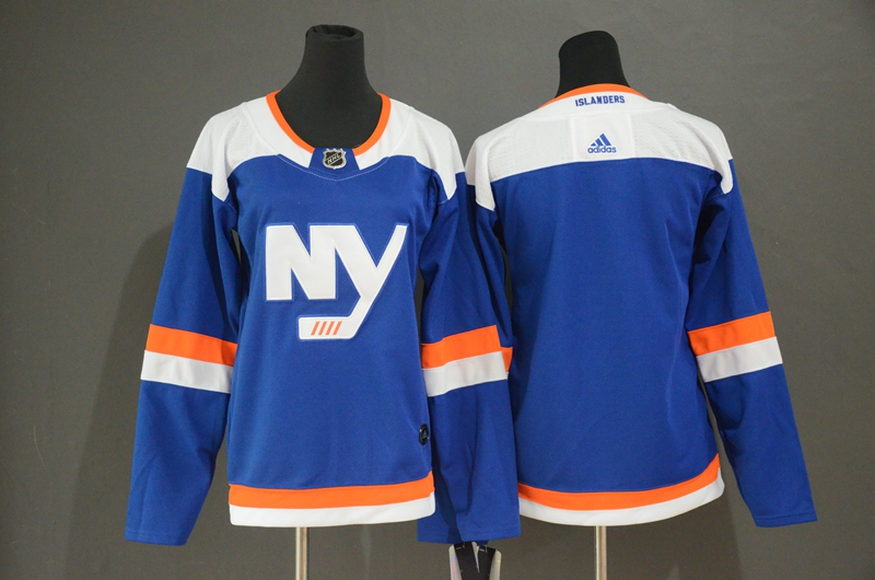 Islanders Blank Blue Women Alternate Breakaway Adidas Jersey