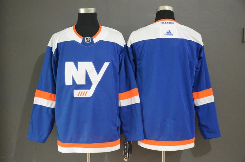 Islanders Blank Blue Alternate Breakaway Adidas Jersey