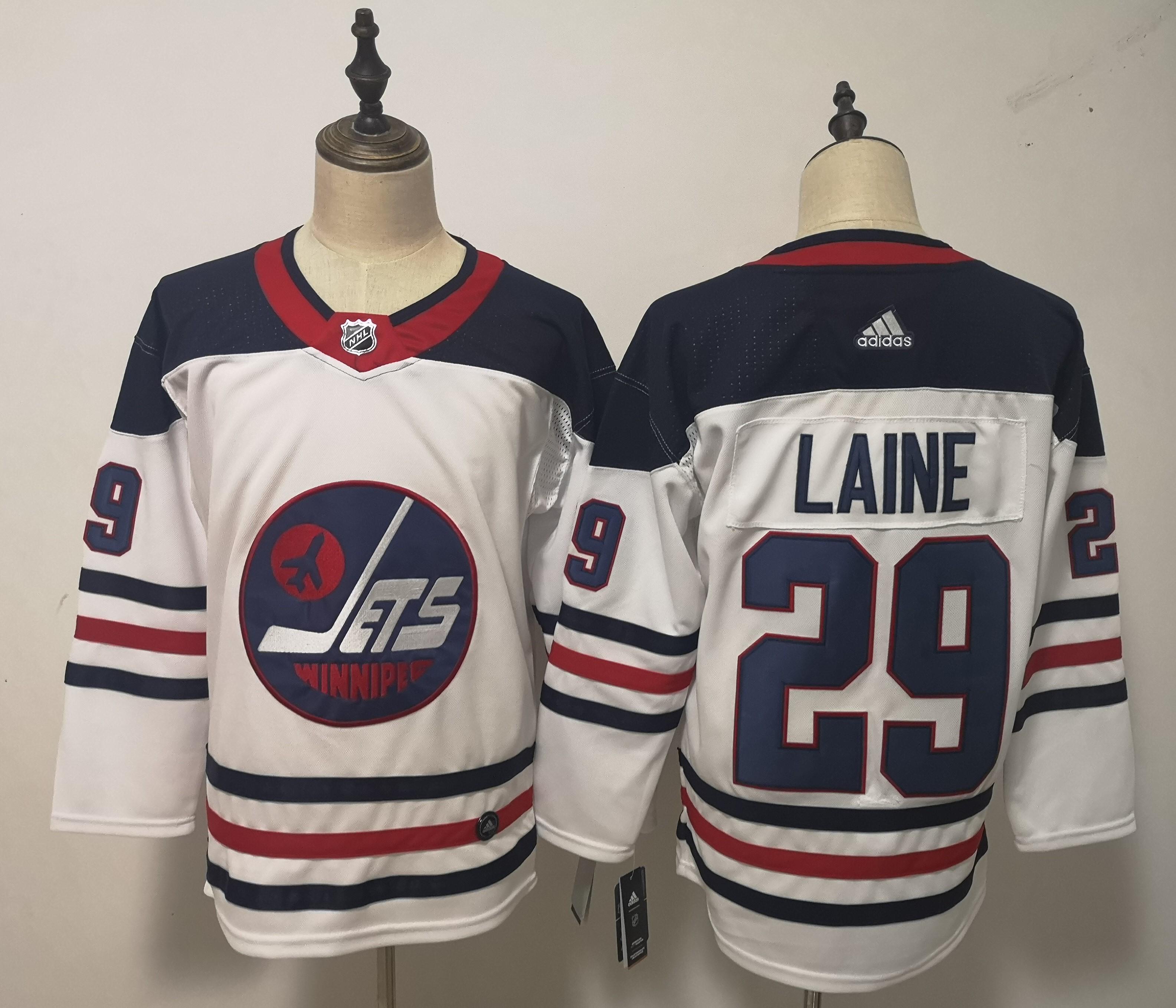 Winnipeg Jets #29 Patrik Laine White Breakaway Heritage Adidas Jersey