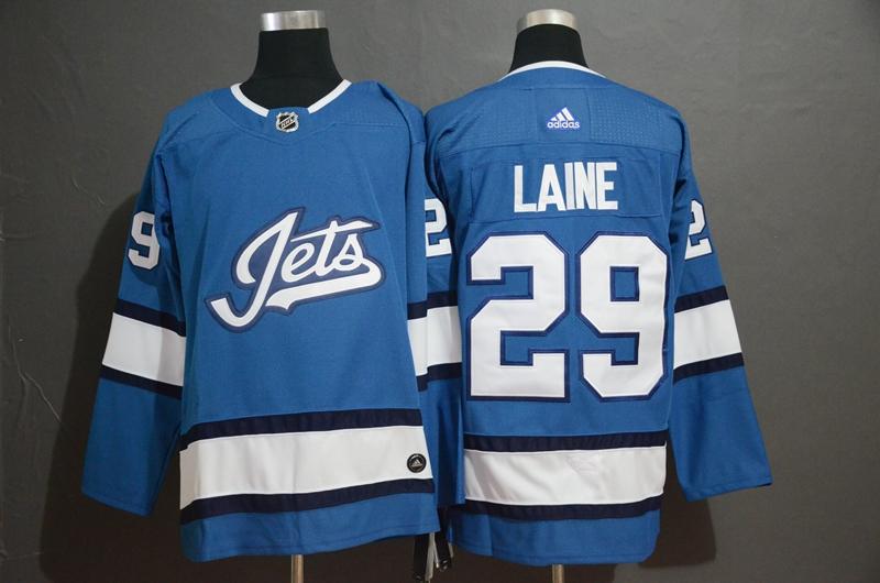 Winnipeg Jets #29 Patrik Laine Blue Alternate Adidas Jersey