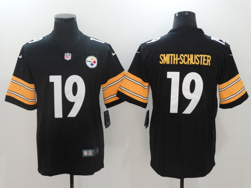 Youth Nike Steelers 19 JuJu Smith-Schuster Black Vapor Untouchable Player Limited Jersey