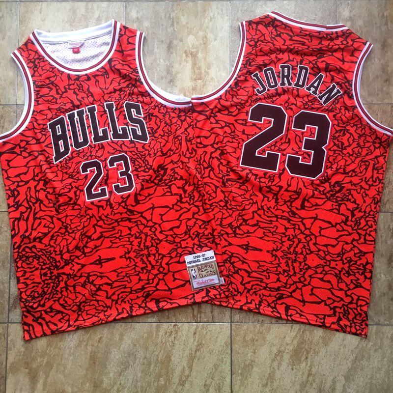 Bulls #23 Michael Jordan Black 1996-97 Hardwood Classics Jersey
