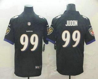 Men's Baltimore Ravens #99 Matt Judon Black 2017 Vapor Untouchable Stitched NFL Nike Limited Jersey