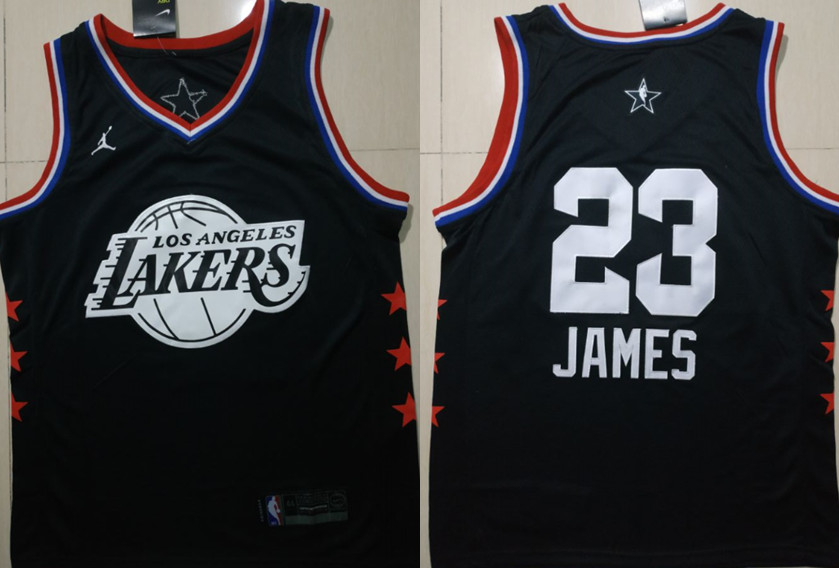Lakers #23 Lebron James 2019 NBA All-Star Game Jordan Brand Swingman Jersey
