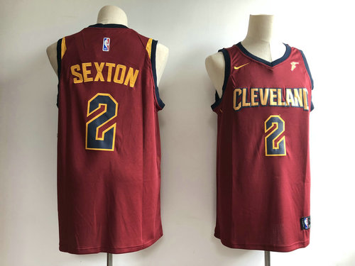 Men's Cleveland Cavaliers #2 Collin Sexton Swingman Icon Edition Jersey