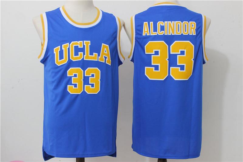 UCLA Bruins 33 Lew Alcindor Blue College Jersey