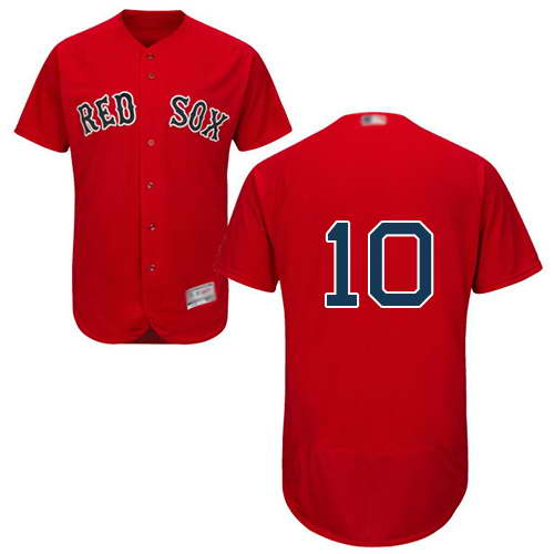 Red Sox #10 David Price Red Flexbase Authentic Collection Stitched MLB Jersey