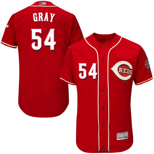 Reds #54 Sonny Gray Red Flexbase Authentic Collection Stitched MLB Jersey