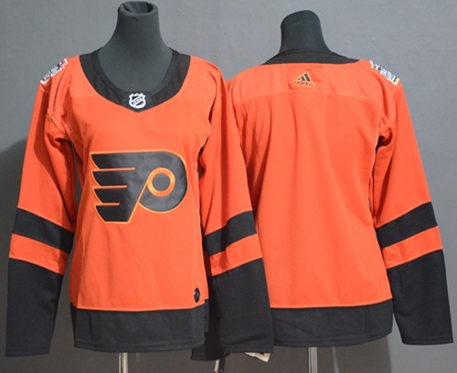 Adidas Flyers Blank Orange Authentic 2019 Stadium Series Stitched NHL Jersey
