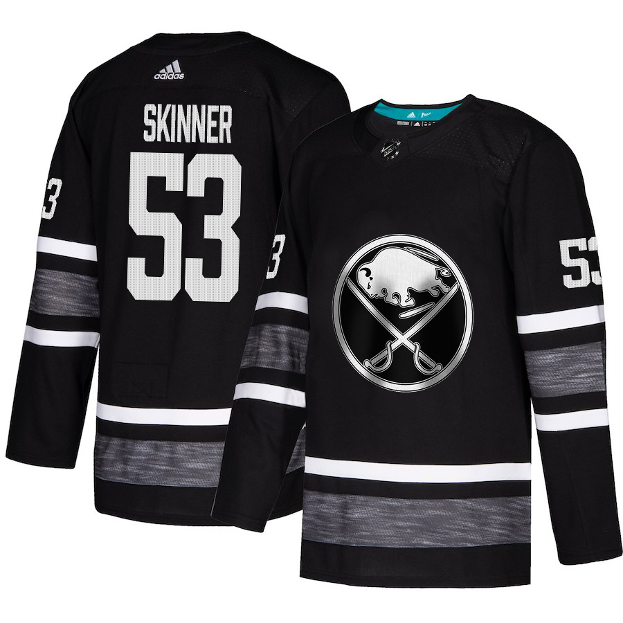 Adidas Sabres #53 Jeff Skinner Black Authentic 2019 All-Star Stitched NHL Jersey