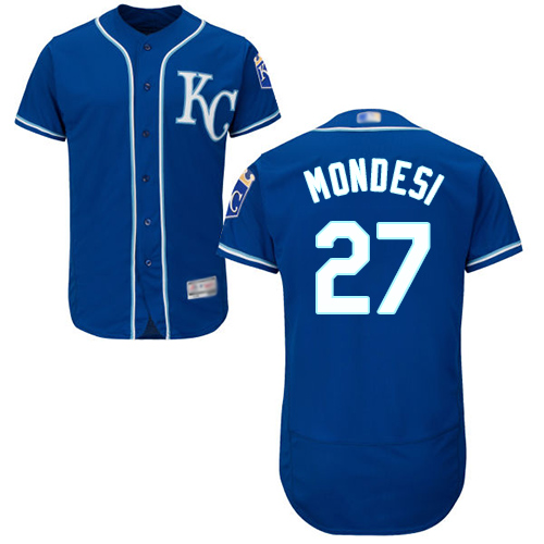 Royals #27 Raul Mondesi Royal Blue Flexbase Authentic Collection Stitched MLB Jersey