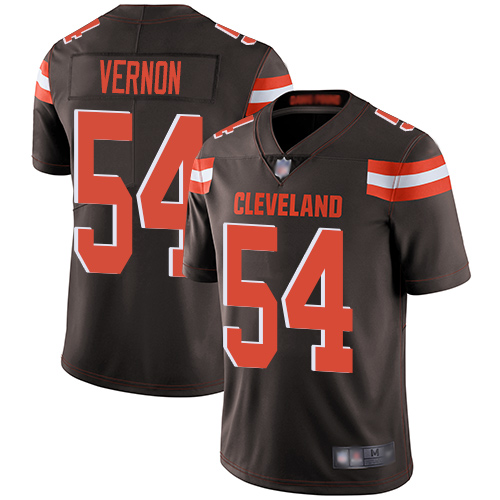 Nike Browns #54 Olivier Vernon Brown Team Color Youth Stitched NFL Vapor Untouchable Limited Jersey