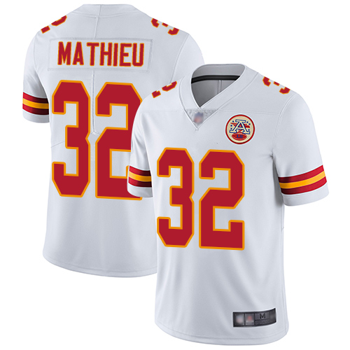 Nike Chiefs #32 Tyrann Mathieu White Youth Stitched NFL Vapor Untouchable Limited Jersey