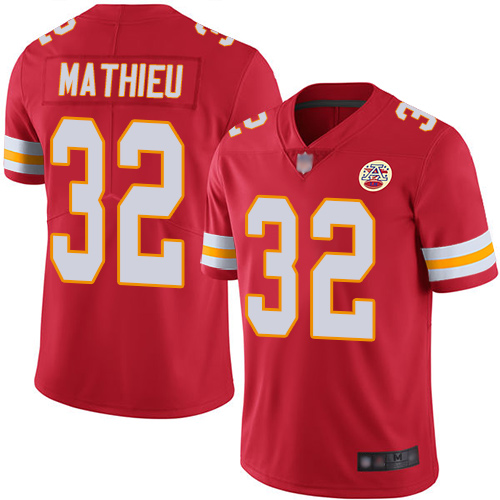 Nike Chiefs #32 Tyrann Mathieu Red Team Color Youth Stitched NFL Vapor Untouchable Limited Jersey