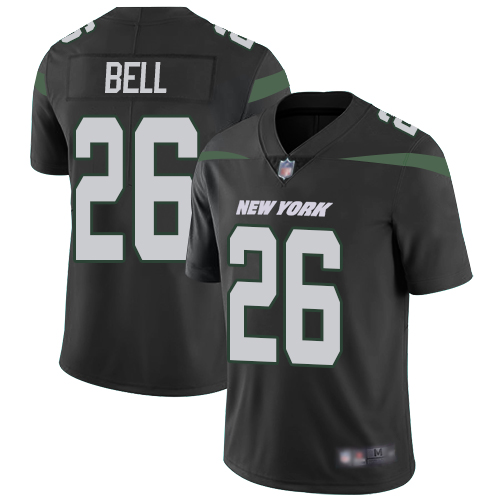 Nike Jets #26 Le'Veon Bell Black Alternate Youth Stitched NFL Vapor Untouchable Limited Jersey