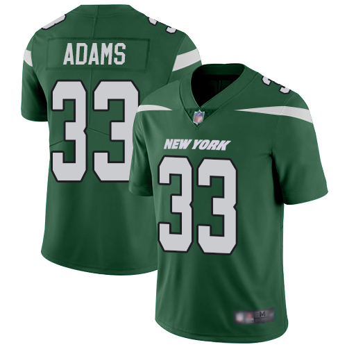 Nike Jets #33 Jamal Adams Green Team Color Youth Stitched NFL Vapor Untouchable Limited Jersey