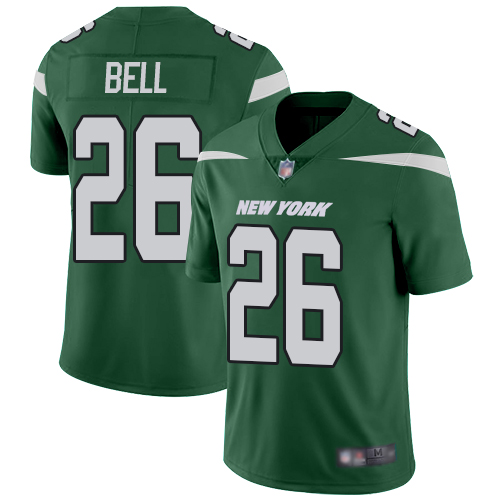 Nike Jets #26 Le'Veon Bell Green Team Color Youth Stitched NFL Vapor Untouchable Limited Jersey