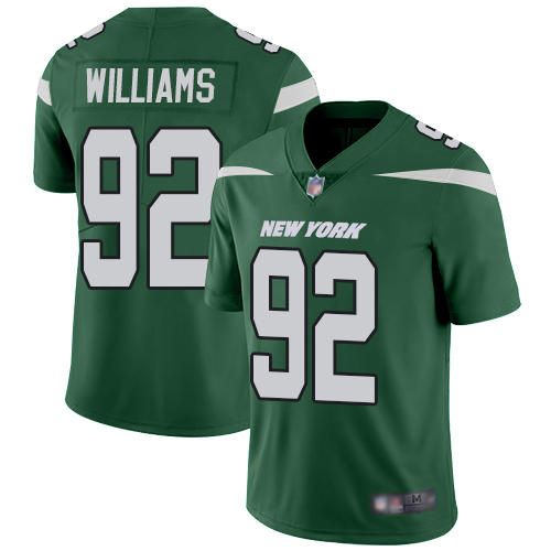 Nike Jets #92 Leonard Williams Green Team Color Youth Stitched NFL Vapor Untouchable Limited Jersey