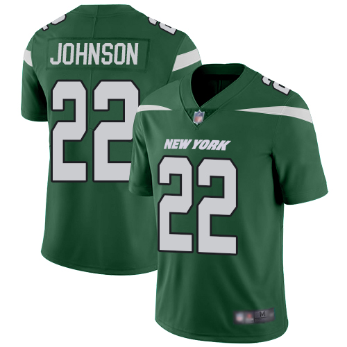 Nike Jets #22 Trumaine Johnson Green Team Color Youth Stitched NFL Vapor Untouchable Limited Jersey