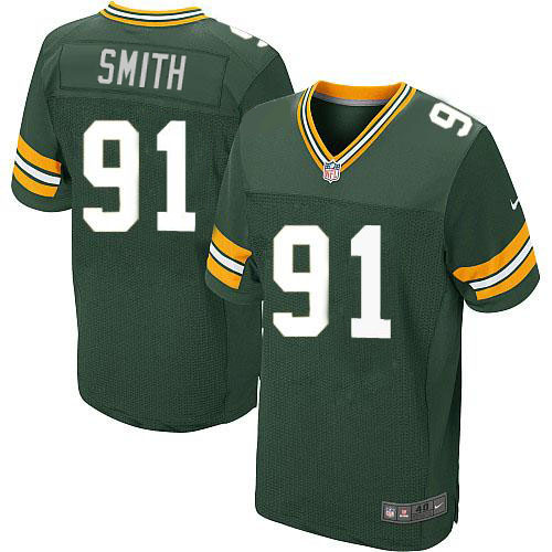 Nike Green Packers #91 Preston Smith Green Team Color Men's Stitched NFL Elite Jersey