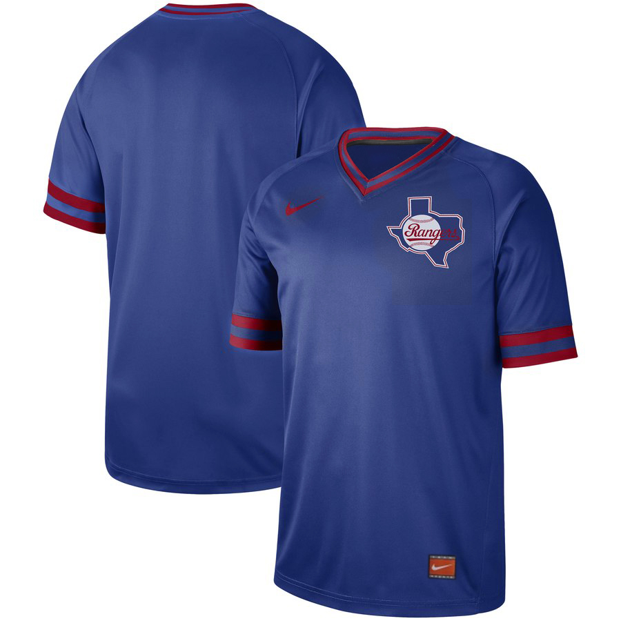 Texas Rangers Nike Cooperstown Collection Legend V-Neck Jersey Royal