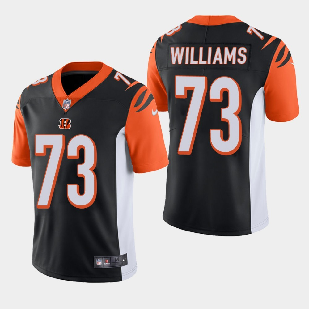 Nike Bengals 73 Jonah Williams Black Youth 2019 NFL Draft First Round Pick Vapor Untouchable Limited Jersey