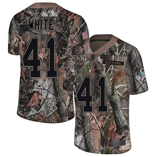Buccaneers #41 Devin White Camo Youth Stitched Football Limited Rush Realtree Jersey