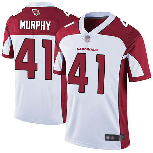Cardinals #41 Byron Murphy White Youth Stitched Football Vapor Untouchable Limited Jersey